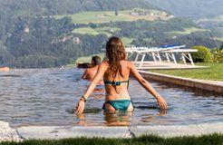 Biohotel Pennhof: Natürlich Baden im Naturpool - Pennhof, Barbian (Bozen), Trentino-Südtirol, Italien