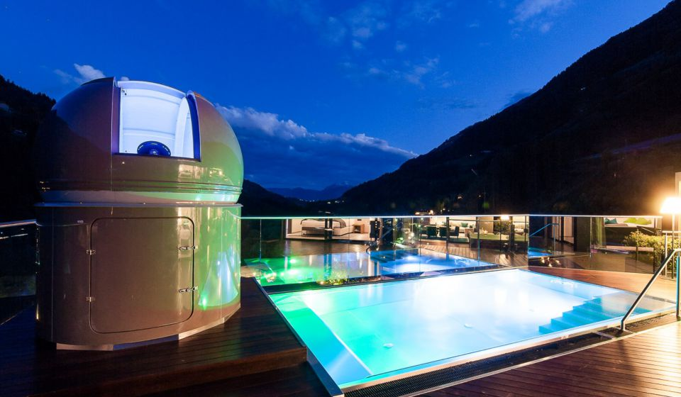 Sky-Chalet with astronomical observatory