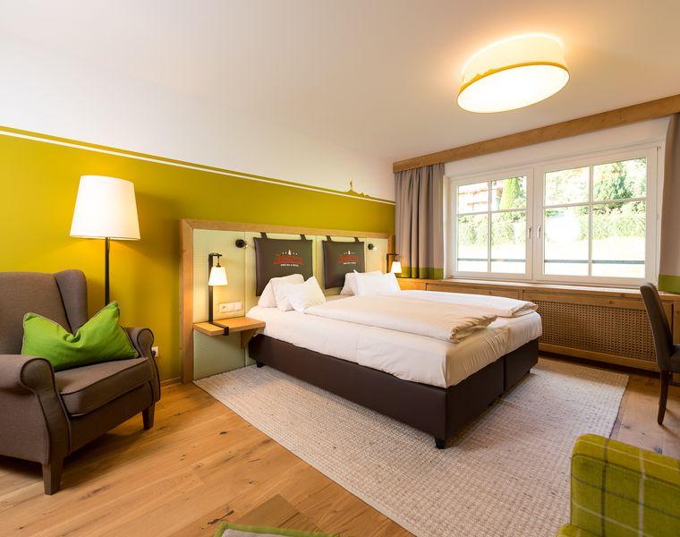 """Doppelzimmer: Doppelzimmer """"Zamangspitze Classic"""""""