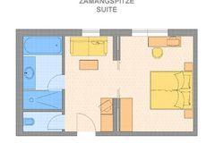 "Grundriss Suite ""Zamangspitze"""