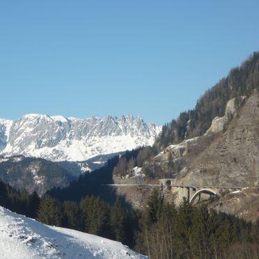 Holzenhütte, Aussicht Winter