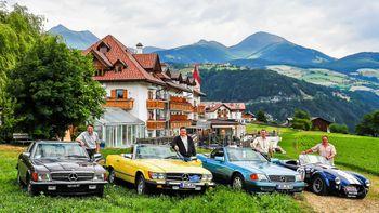 Old-Timer-Treffen im Natur & Aktiv Hotel Rogen