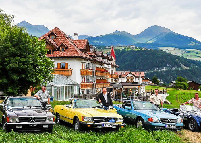 Oldtimer-Treffen im Natur & Aktiv Hotel Rogen