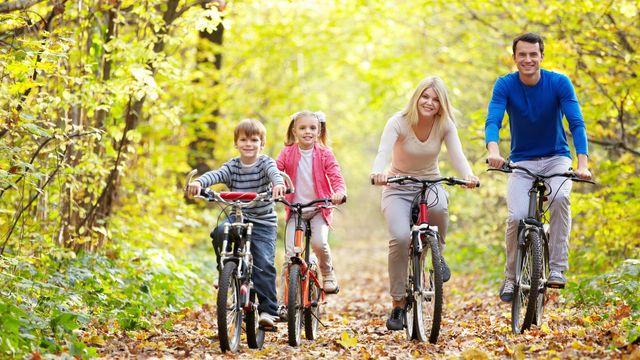 Herbstzeit mit der Familie 5=4