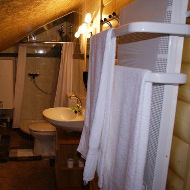 Almwiesenhütte, Badezimmer
