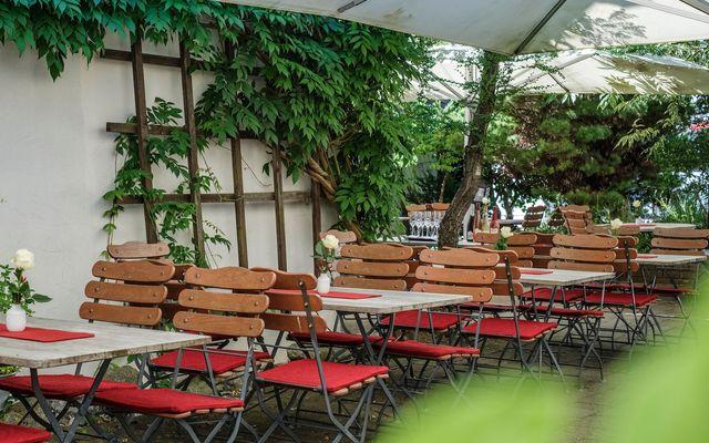 BIO HOTEL Adler: Gastgarten