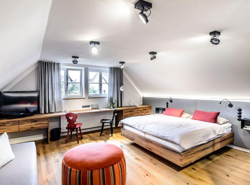 BIO HOTEL Adler: Zimmer - Bio-Adler, Vogt, Baden-Württemberg, Deutschland
