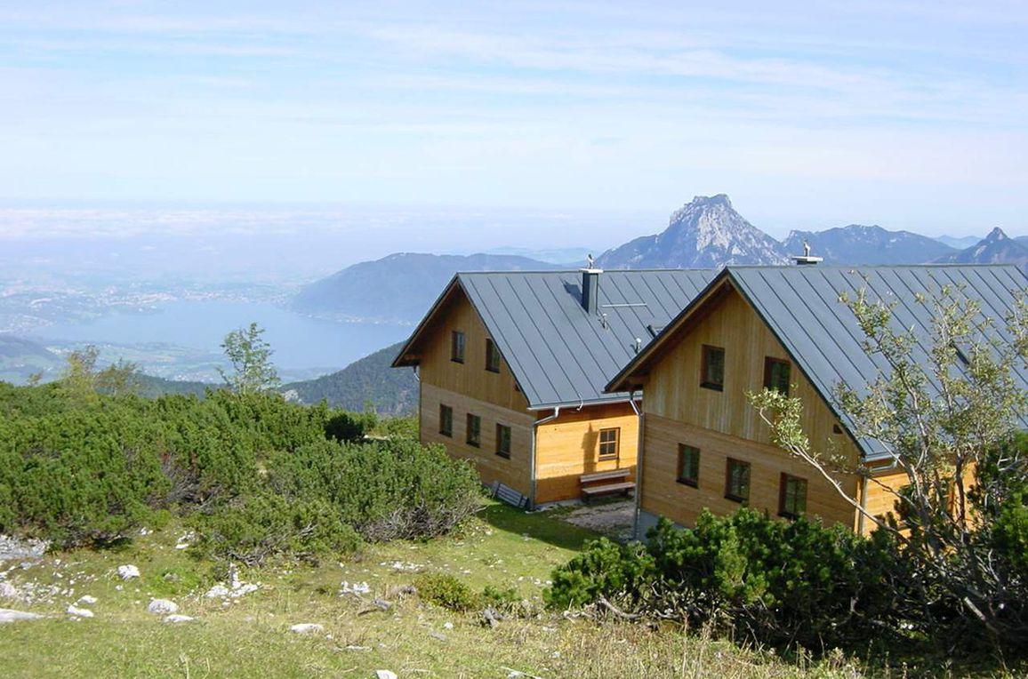Erlakogelhütte am Feuerkogel, Sommer