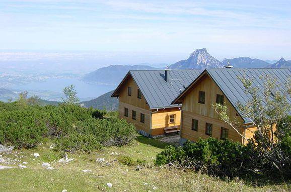 , Erlakogelhütte am Feuerkogel in Ebensee, Oberösterreich, Upper Austria, Austria