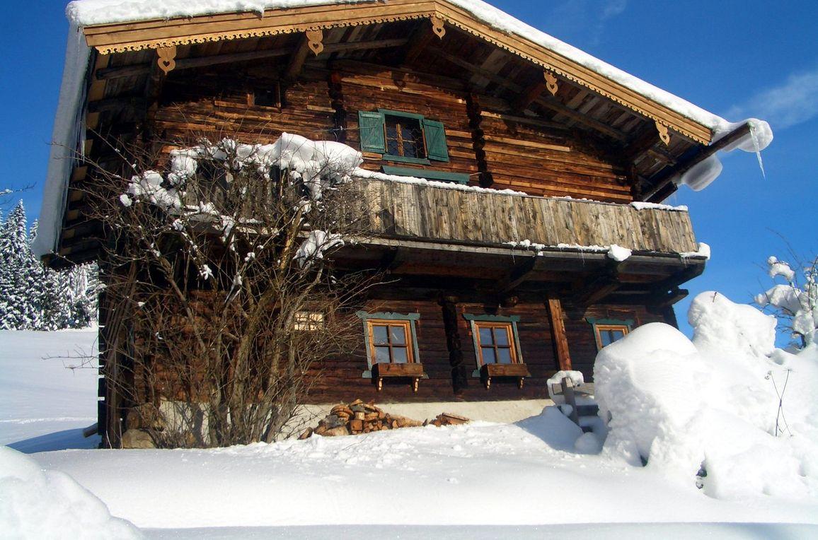 Chalet Alpenglück, Frontansicht