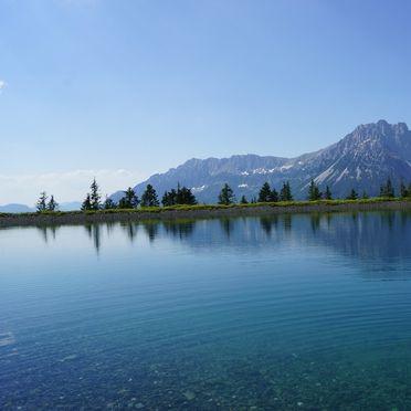 Speichersee Astberg, Chalet Alpenglück, Kitzbühel, Tirol, Tirol, Österreich