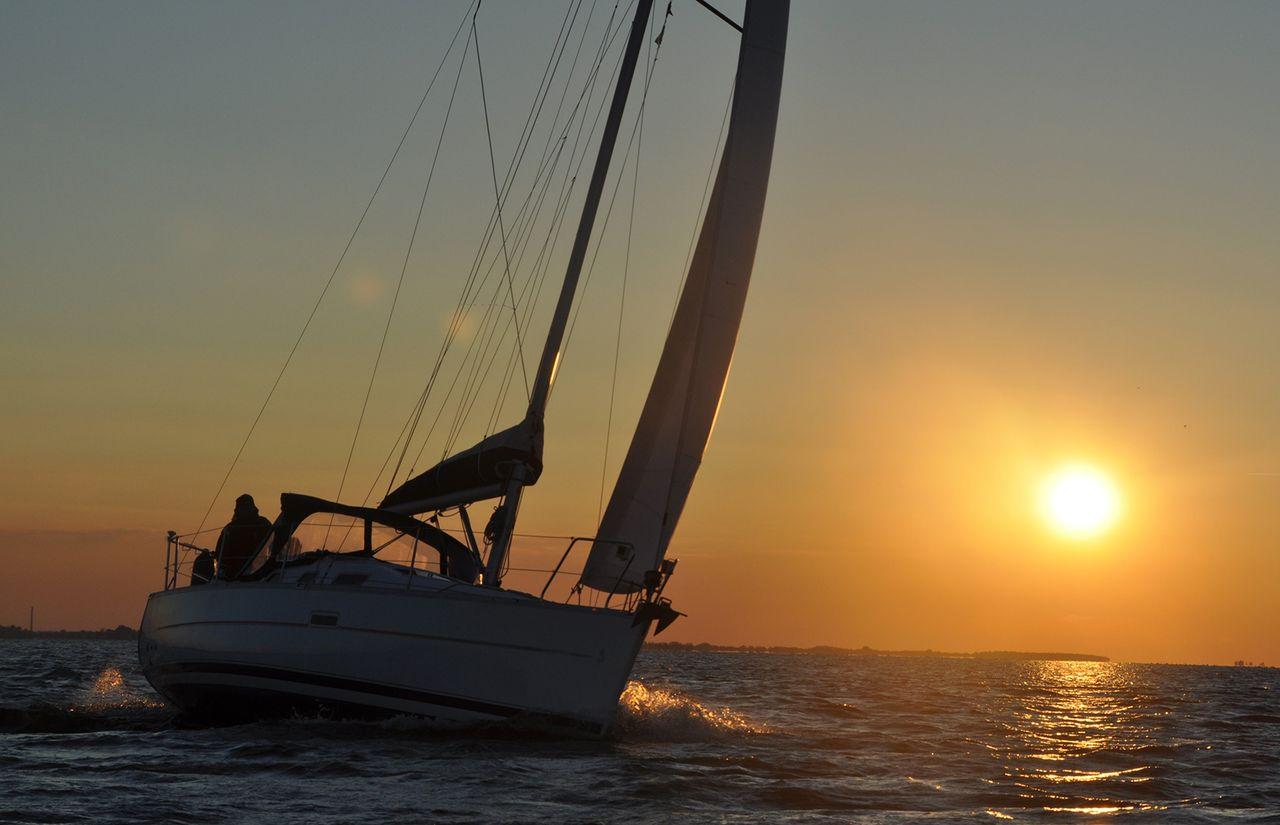 Biohotel Gut Nisdorf: Segelboot
