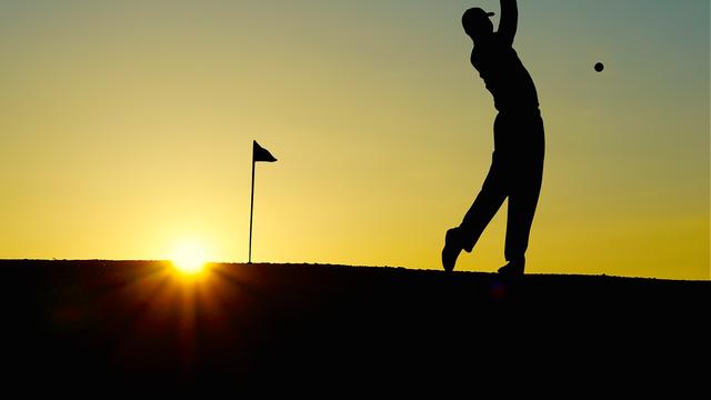 Golf-Aufbau-Wochenende