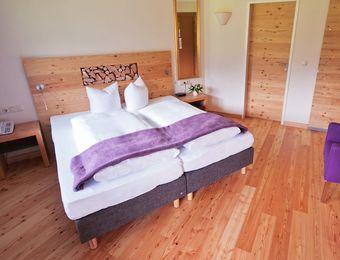 Doppelzimmer Grünstein - Bio-Wellnesshotel Holzleiten