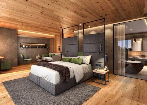 Biohotel Holzleiten Zimmer Panorama Suite (1/1) - Bio-Wellnesshotel Holzleiten