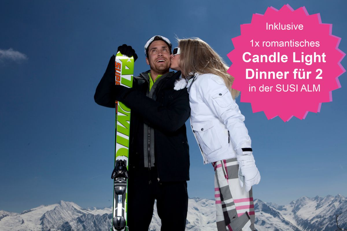 Romantik Short Trip inkl. Candle-Light-Dinner ✓
