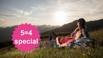 MountainLOVE 5=4 special | stay 5 nights, pay 4
