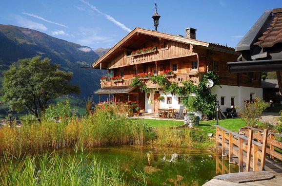 Sommer, Bergchalet Klausner Enzian, Ramsau im Zillertal, Tirol, Tyrol, Austria