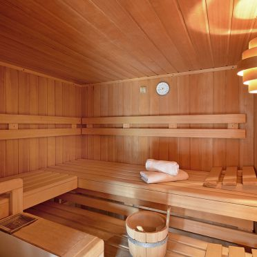 Sauna, Bergchalet Klausner Enzian in Ramsau im Zillertal, Tirol, Tirol, Österreich