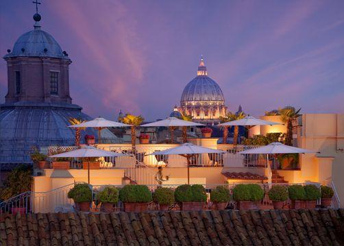 Hotel Raphaël, Rom, Italy (4/19)