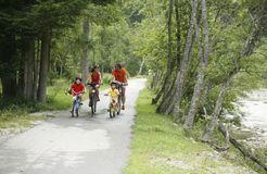 Biohotel Pirkers: Fahrradtour mit der ganzen Familie - Pirker's Natur & Bio- Familienhotel, Malta, Kärnten, Österreich