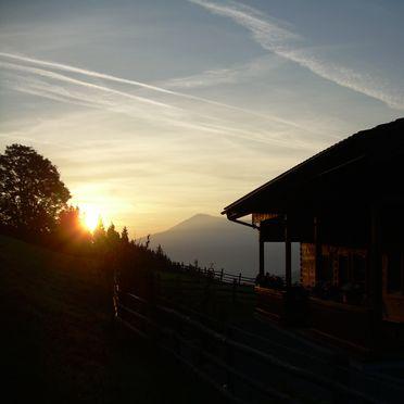 Rauchenbachalm, Sonnenuntergang