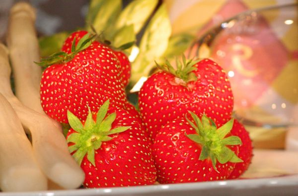 Strawberrytime in the REBSTOCK