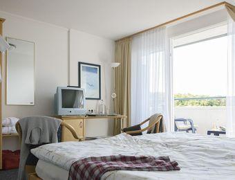 Double room standard with balcony - Biohotel Strandeck