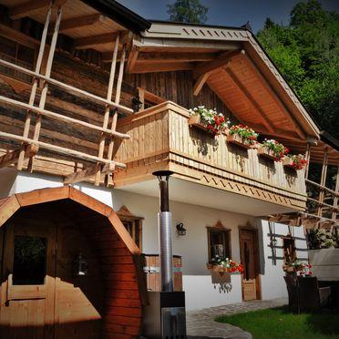 Almchalet Dorfblick, Sommer
