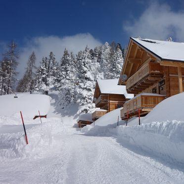 Winter, Holzknechthütte, Aich, Steiermark, Steiermark, Österreich