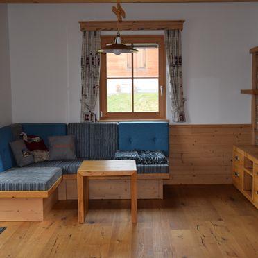 Holzknechthütte, gemütliche TV-Ecke
