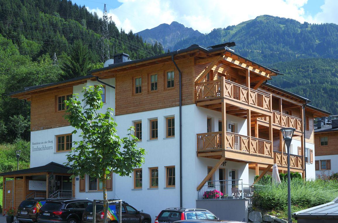 Residenz an der Burg, Sommer - Aussicht Balkon