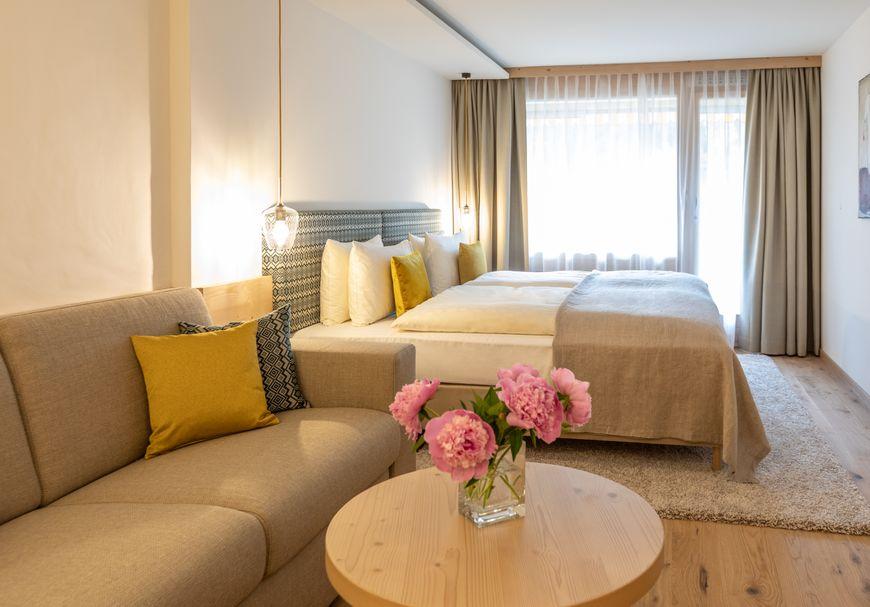 """Doppelzimmer Süd mit Balkon """"Comfort"""""""