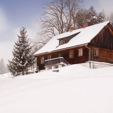 Winter, Hütte Weikhardt, Tauplitz, Steiermark, Styria , Austria