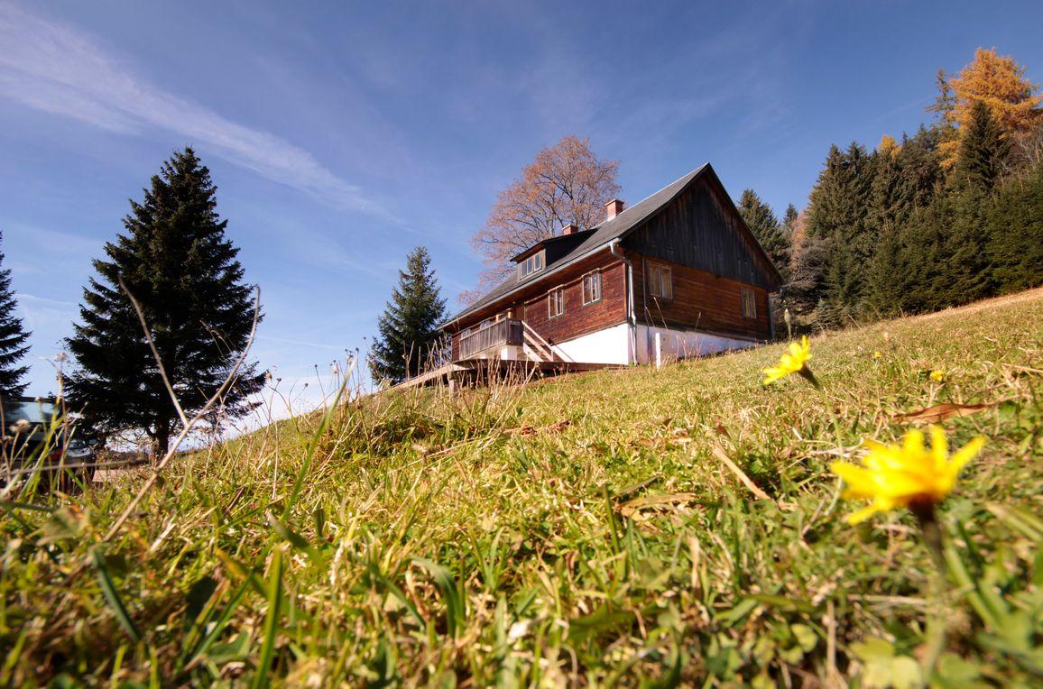Hütte Weikhardt, Sommer