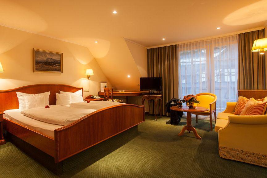 Sonnen Doppelzimmer im Hotel Zur Sonne in Badenweiler