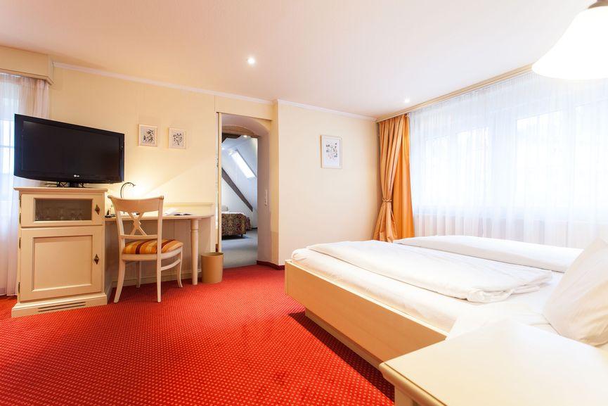 Romantik Familienzimmer im Hotel Zur Sonne in Badenweiler