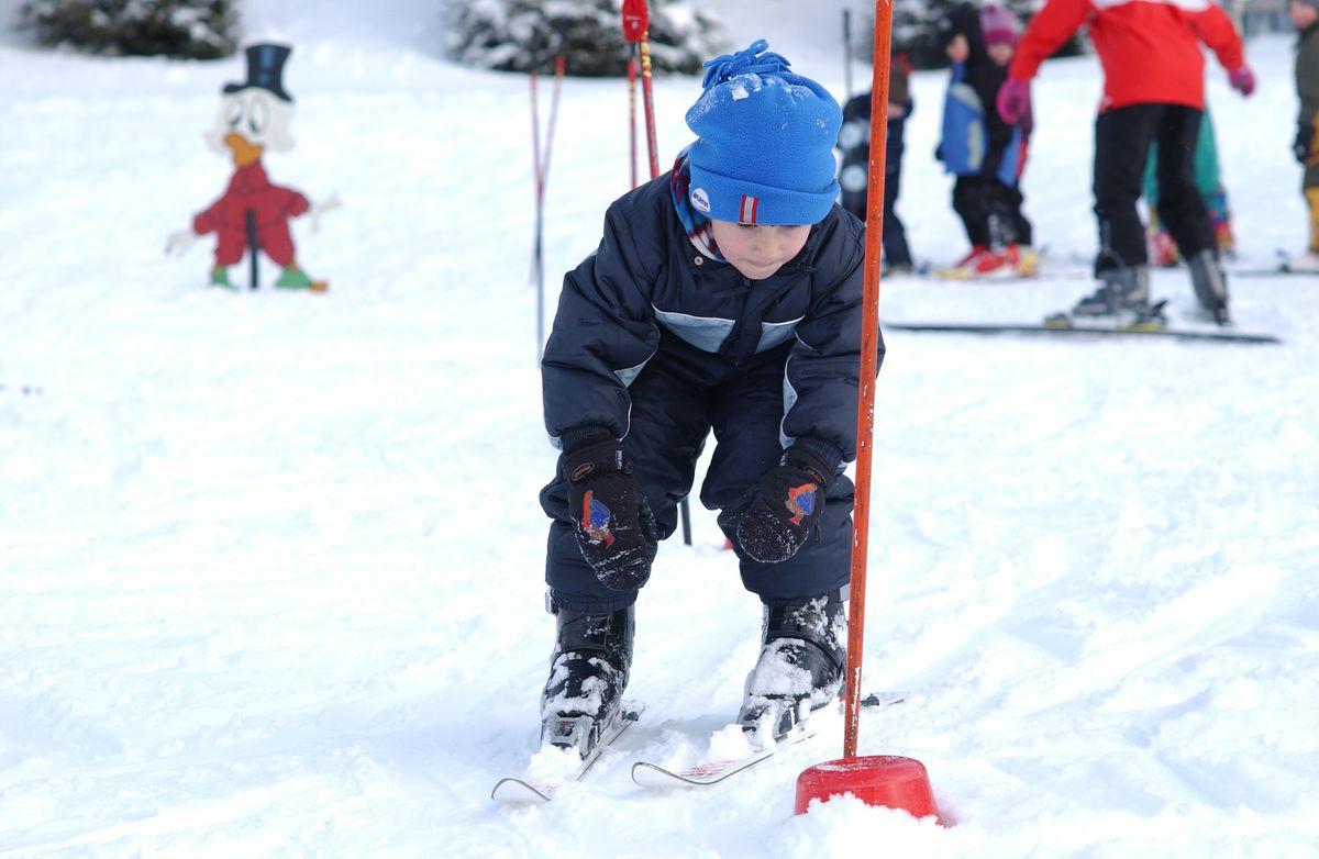 Endlich Skifahren!