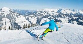 Februar inmitten der weltbesten Skigebiete