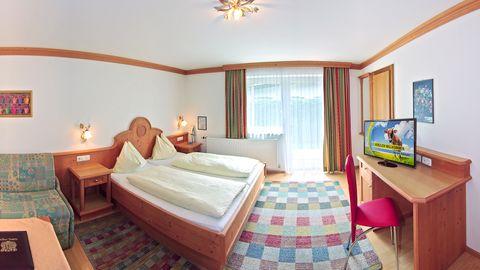 Doppelzimmer Finkennest im Hotel Central