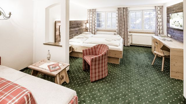 Doppelzimmer Steineberg | 25 m² - 1-Raum