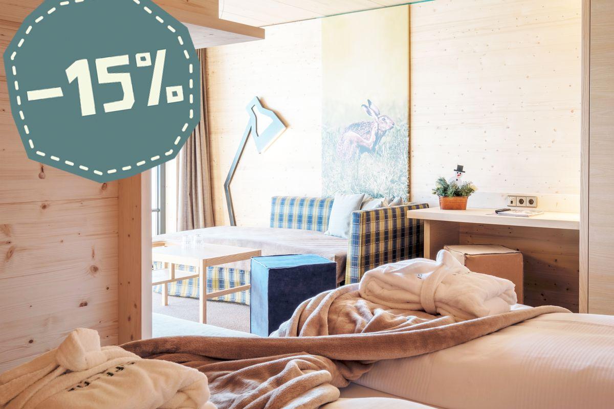 Last Minute 5 Nächte 2-Raum Appartement Nebelhorn