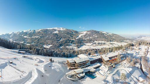 Herrliche Panoramalage inmitten des familienfreundlichen Skigebiets