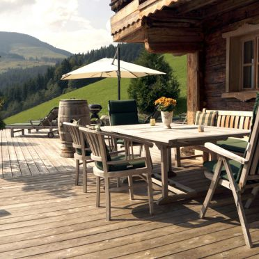Chalet Alpenblick, Terrasse