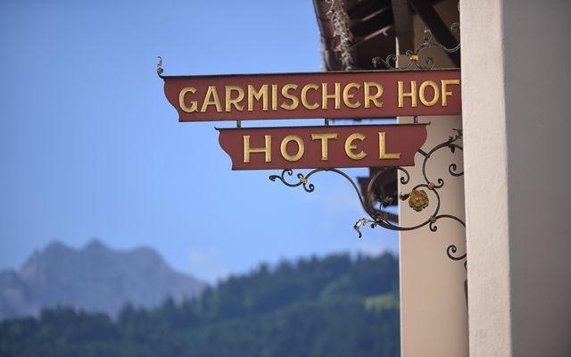 Biohotel Garmischer Hof: Inmitten von Garmisch-Partenkirchen