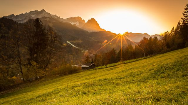 Garmisch Autumn Lights