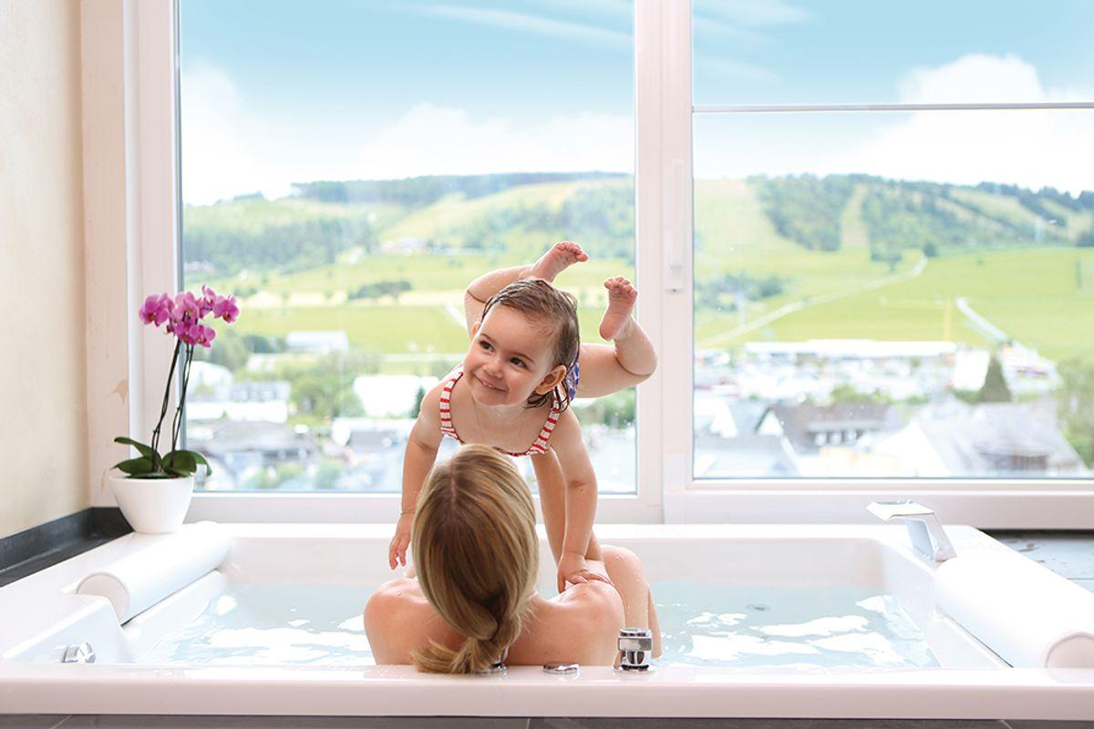 7 Tage Urlaub mit Baby und 150 € Nachlass