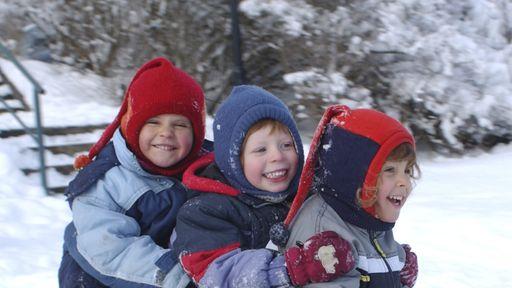 Schneevergnügen für Kinder