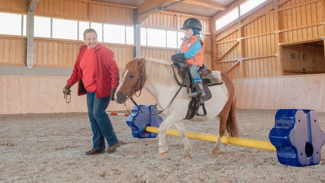 Pony-Urlaubstage: inklusive Reiten für 1 Kind unter 7 Jahren