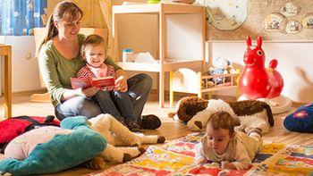 liebevolle, altersgerechte Kinderbetreuung im Familotel Sauerland